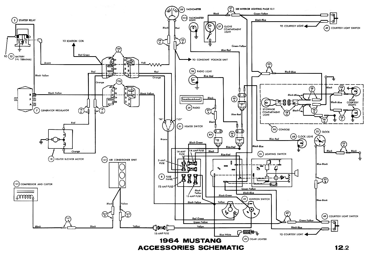1965 Mustang Turn Signal Wiring Diagram from www.ht67.com