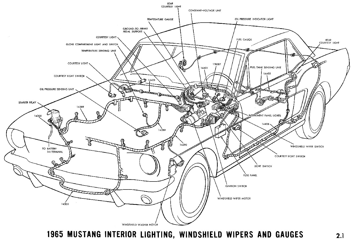 El Ritningar Further 1978 Ford Wiring Diagram On 1950 Gauges 1965 Mustang Exterior Lightning Turn Signals And Horn Schematic