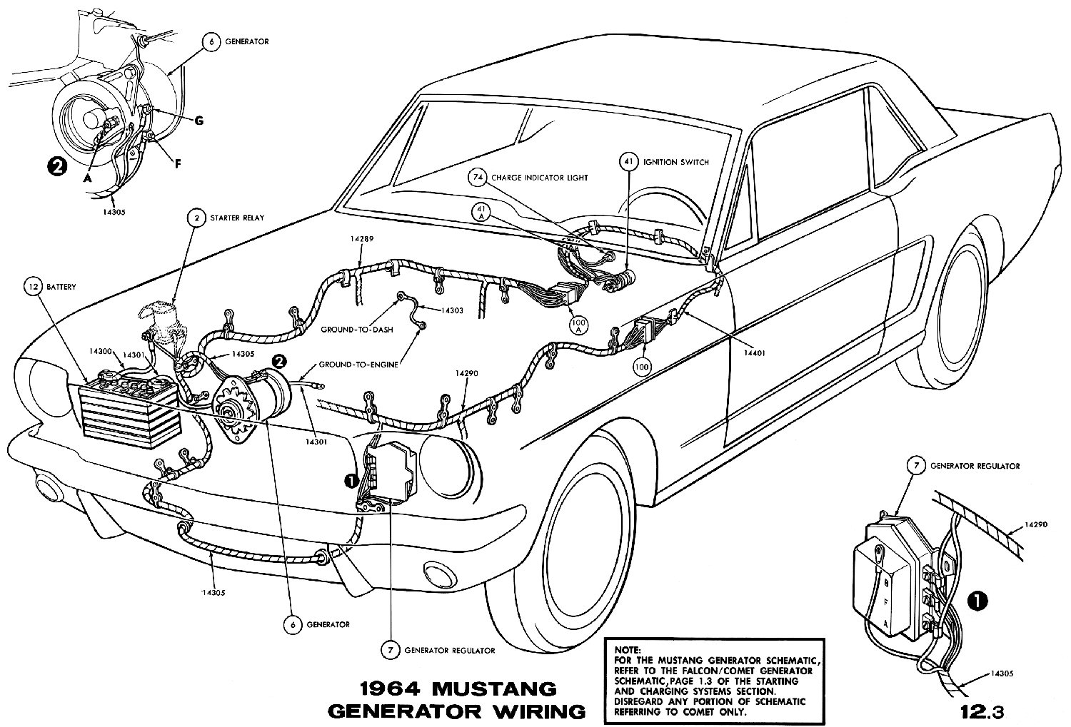 1965 Mustang Light Wiring Diagram 66 Lights Trusted 69