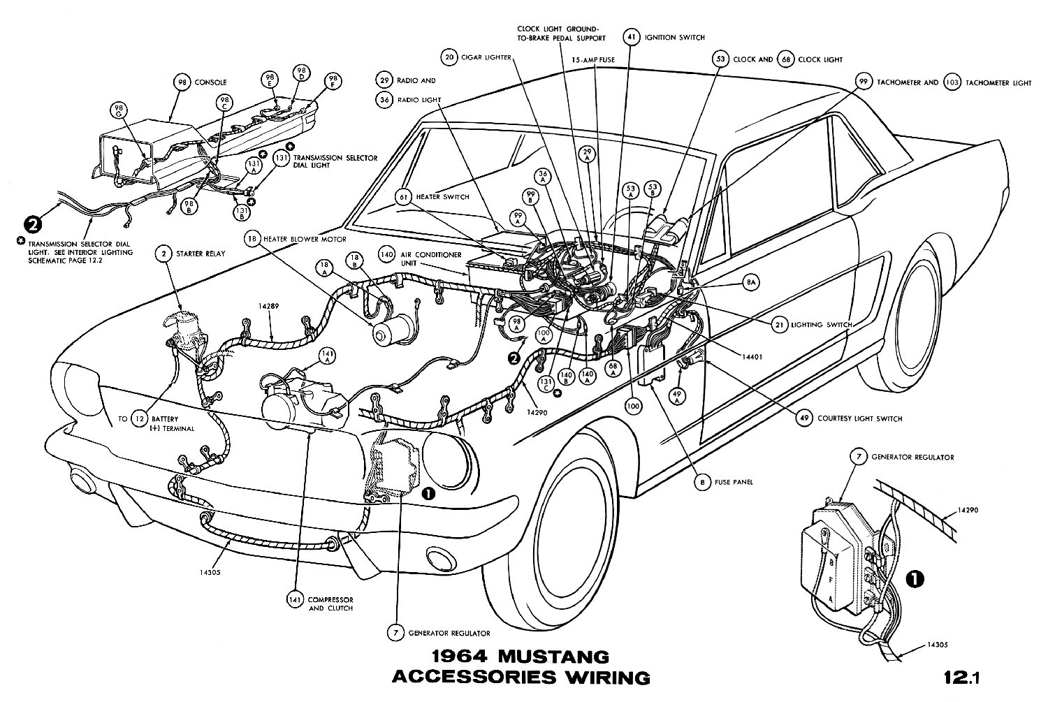 1967 Ford Mustang Fuse Box Wiring Diagrams How To Wire A 53 Starter Solenoid Diagram 1965 Upgrade Database U2022 Rh Mokadesign Co Location 98