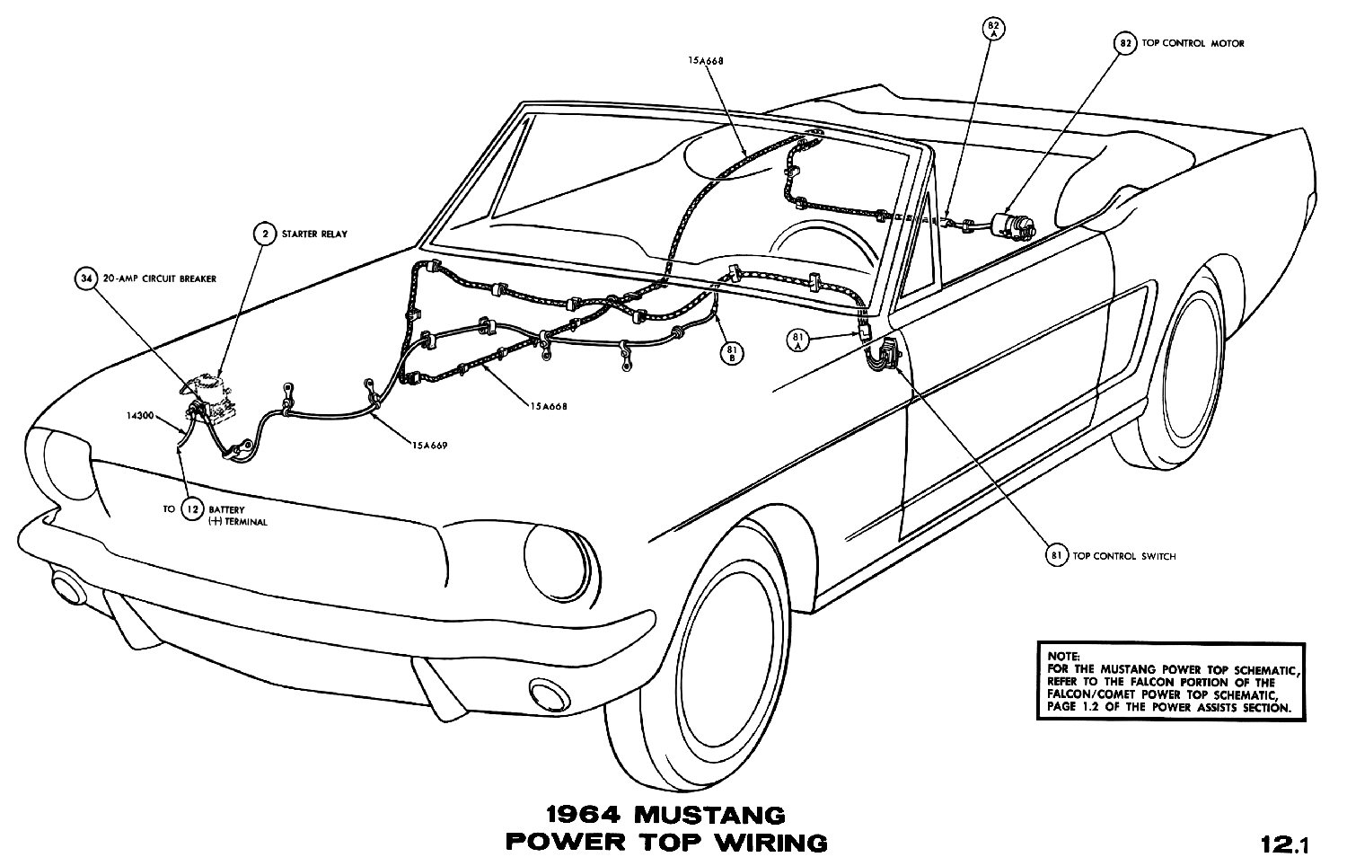 El Ritningar Automotive Diagrams Archives Page 91 Of 301 Wiring 1964 Mustang Power Top