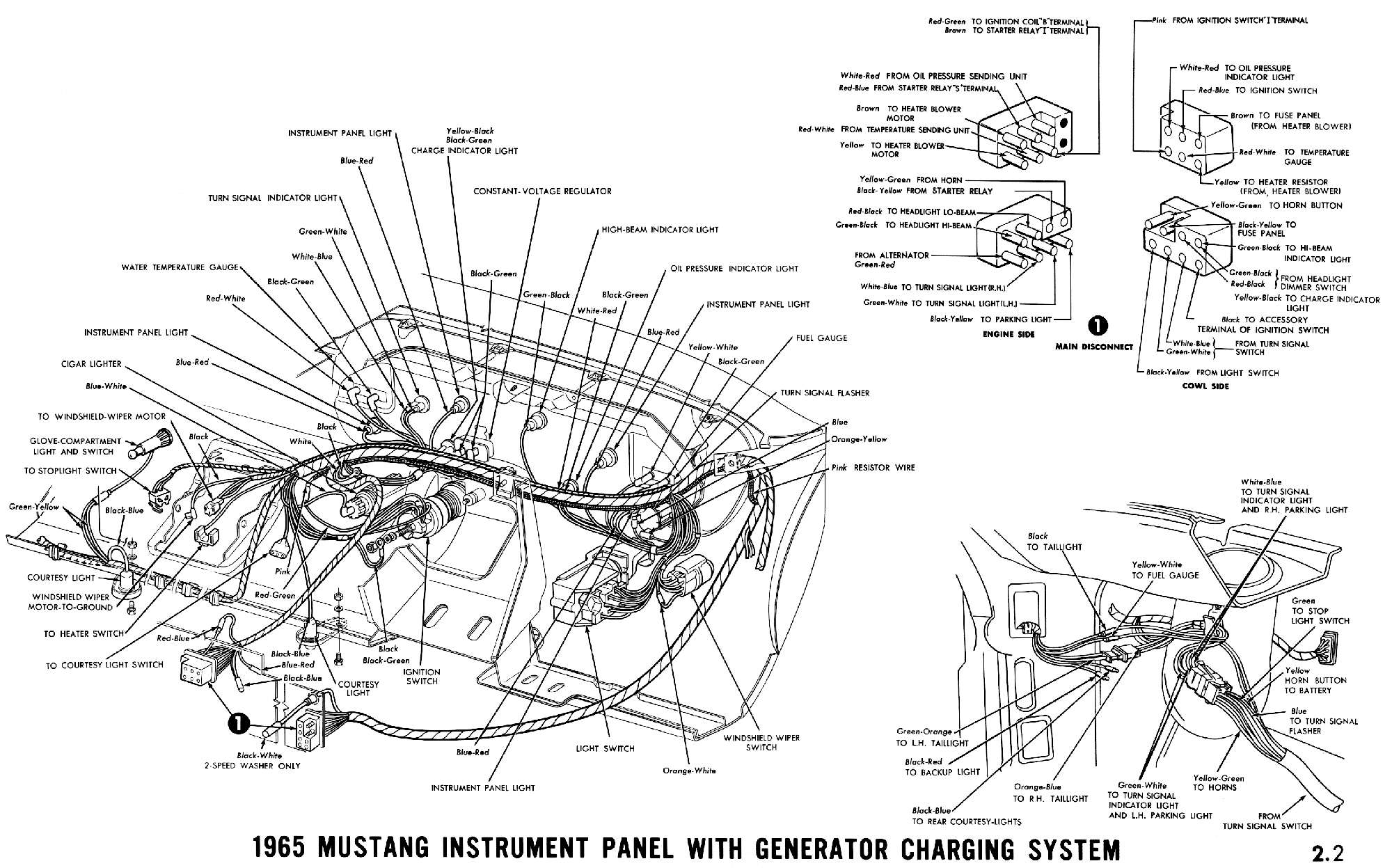 1965 Mustang Wiring Diagram Opinions About 2000 Toyota Tundra Fuel Filter Free Download Finally Getting Some Work Done Again Vintage Forums Color